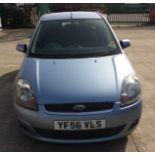 FORD FIESTA 1.4 ZETEC CLIMATE 5 DOOR HATCHBACK - Petrol - Blue FROM A DECEASED ESTATE.