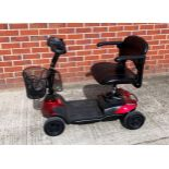 A CTM Dynamo 4 wheel mobility scooter - max weight 150kGs,
