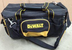DeWalt multi section tool bag