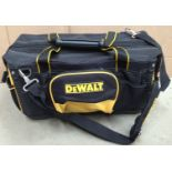 DeWalt multi section tool bag