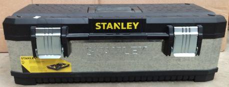 Stanley 67cm metal tool box