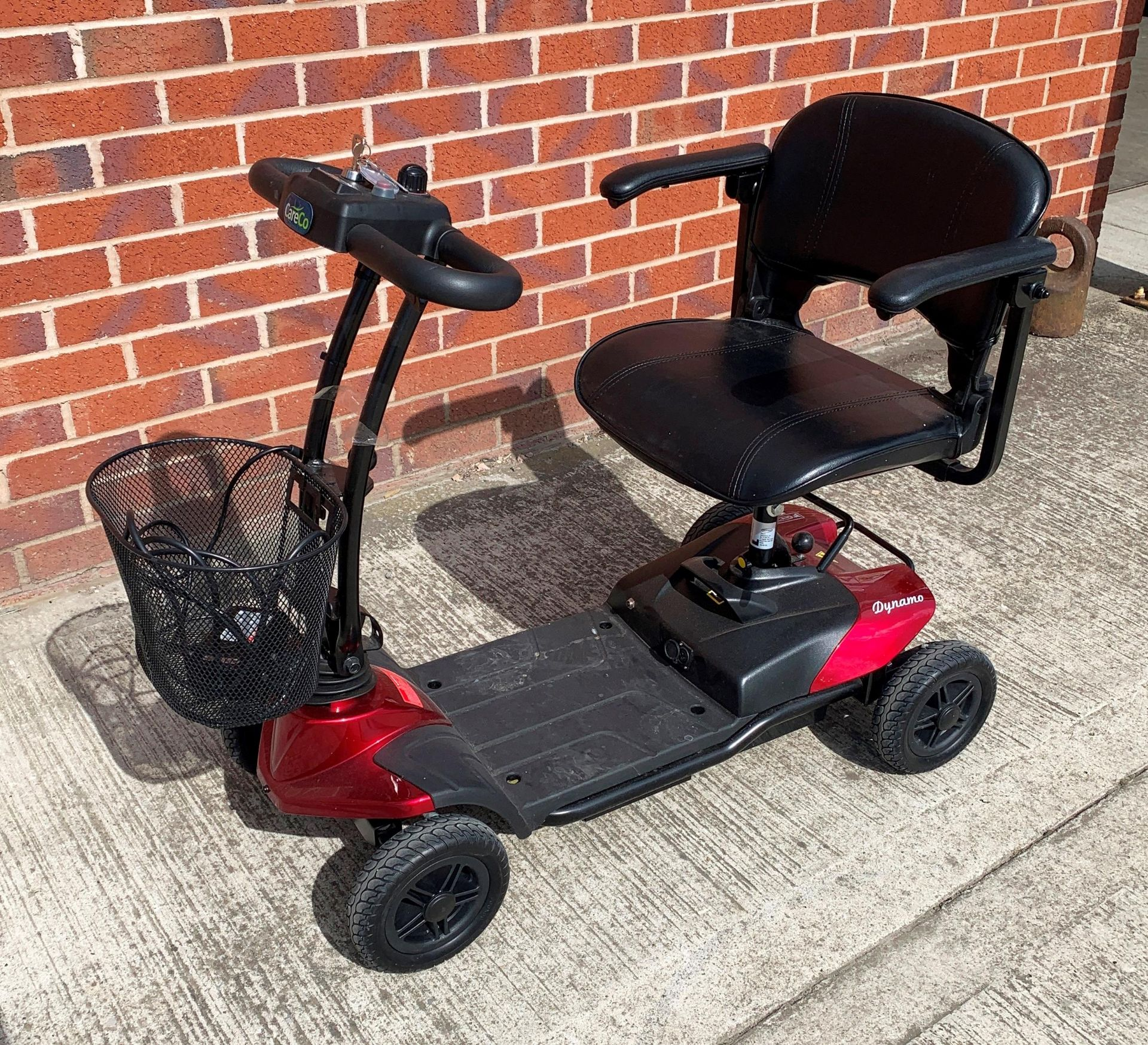 A CTM Dynamo 4 wheel mobility scooter - max weight 150kGs, - Image 2 of 6