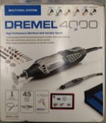 Dremel 4000 high performance multi tool with variable speed in case - 240v