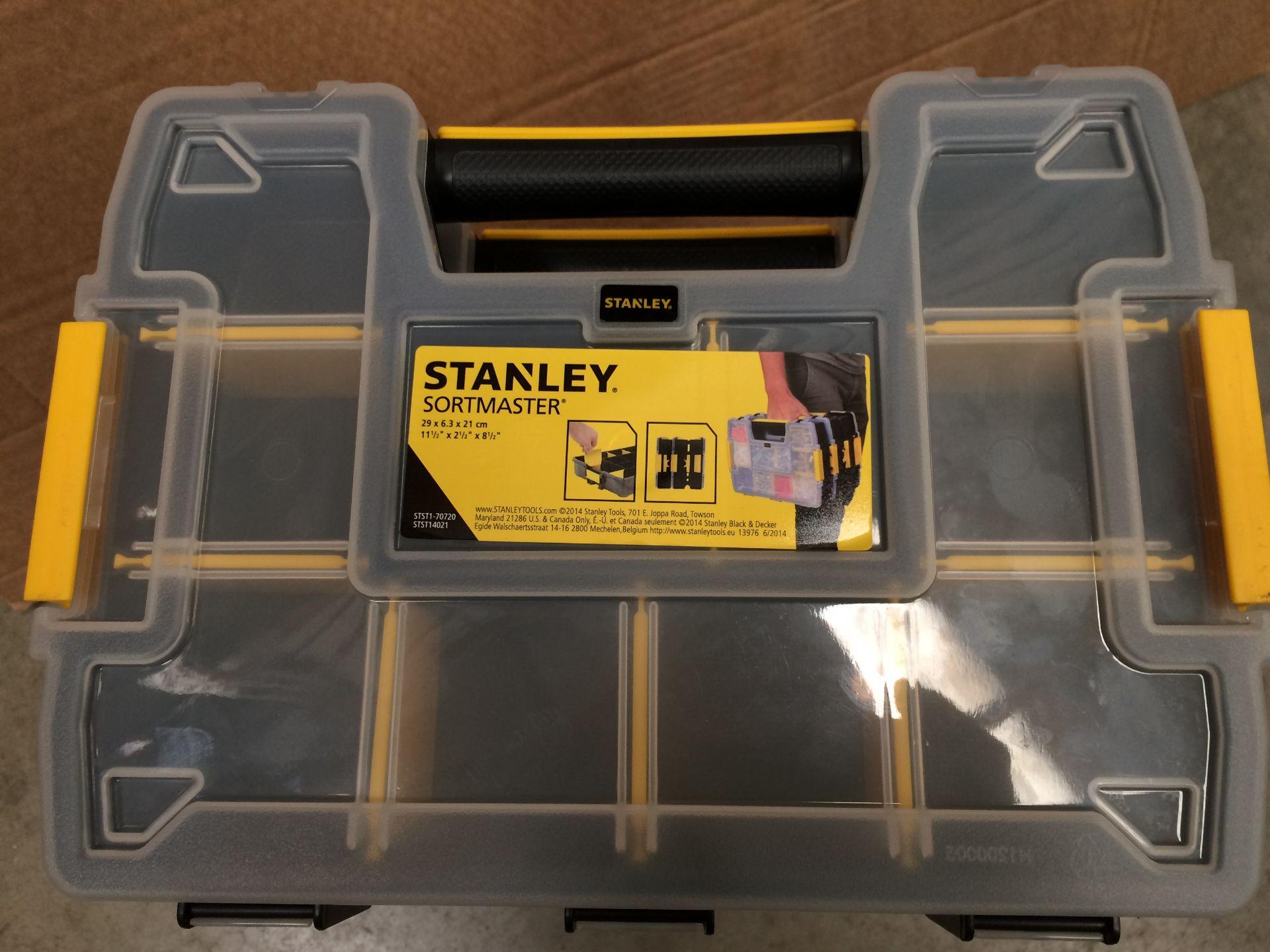 Six level Stanley Sortmaster 29cm x 6. - Image 2 of 2