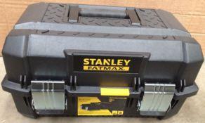 Stanley Fatmax 26cm three level tool box