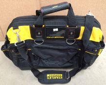 Stanley Fatmax multi section tool bag - 46 x 23 x 28cm