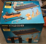 Halfords five piece lifting kit