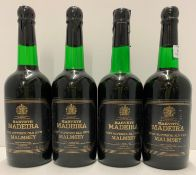 Four 70cl bottles of Harveys Madeira Very Superior old rich Malmsey