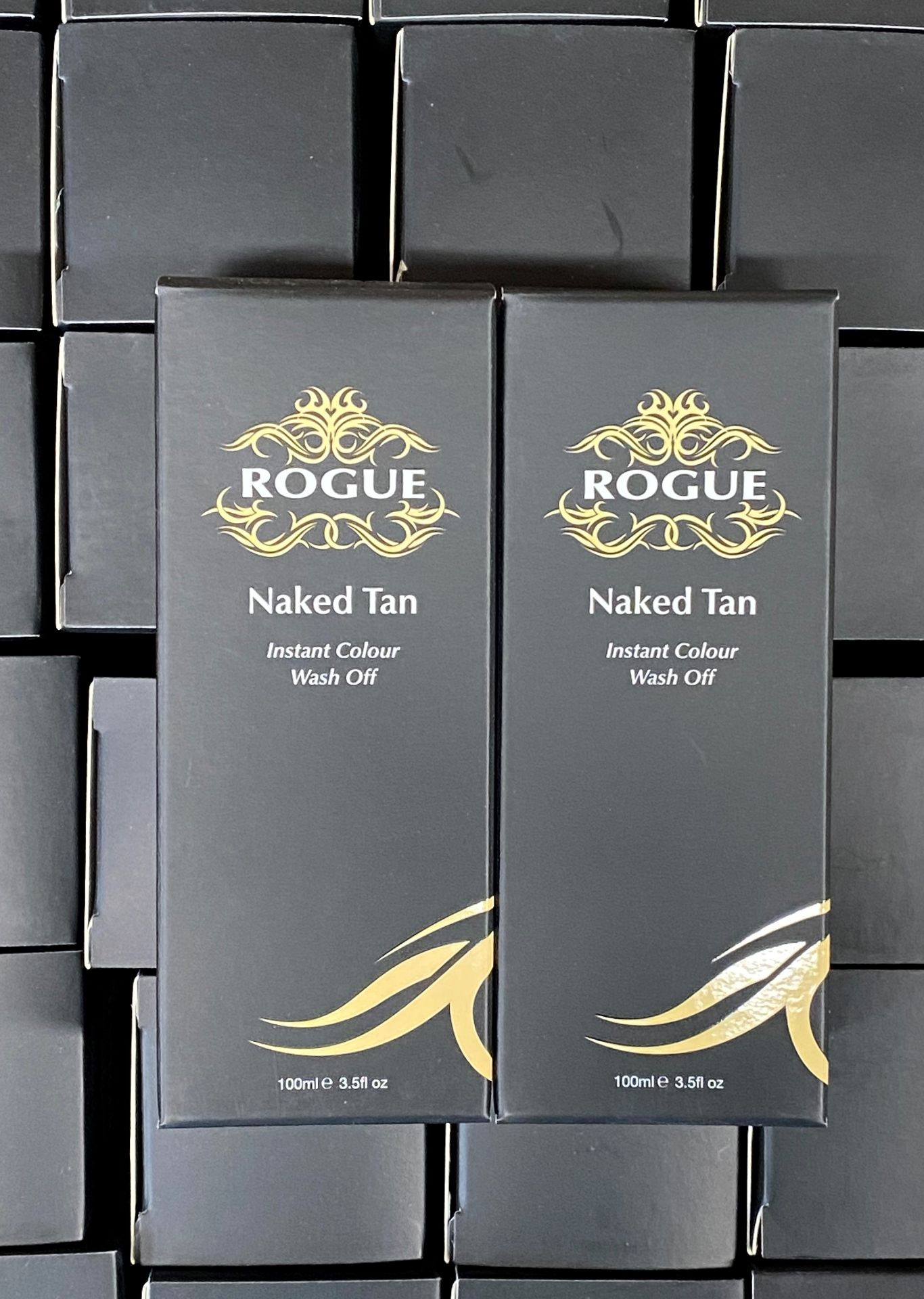 80 x Rogue Naked Tan 100ml tubes (Counts are approximate)