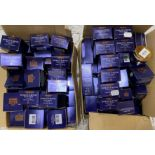 80 x assorted tubs of Admiral shave cream,