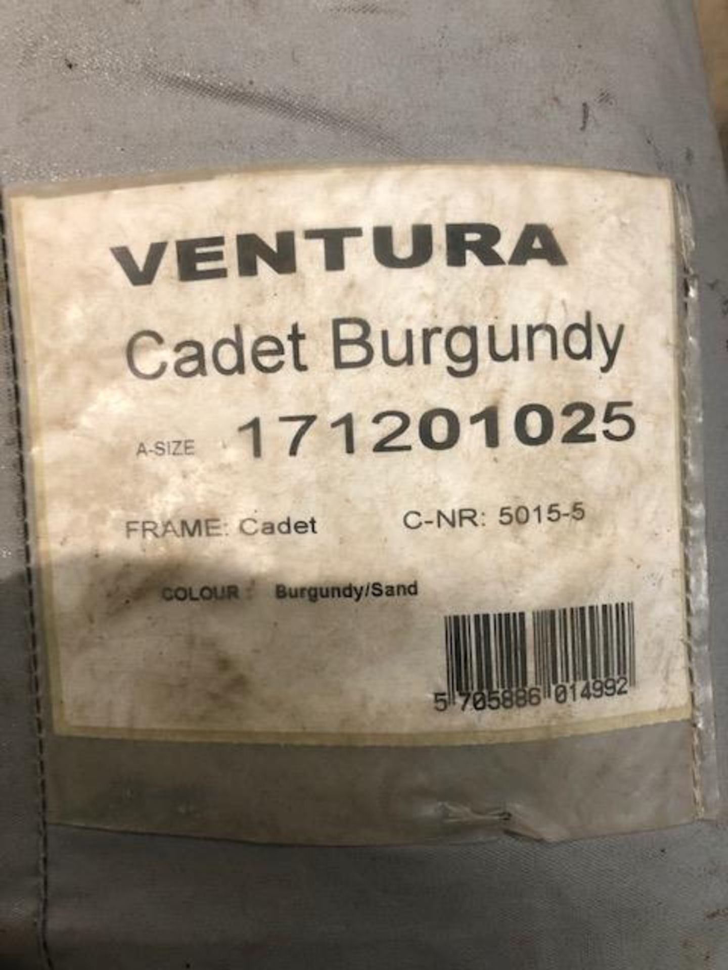 A VENTURA CADET W260 PORCH AWNING (two bags), colour burgundy/sand. - Image 2 of 2