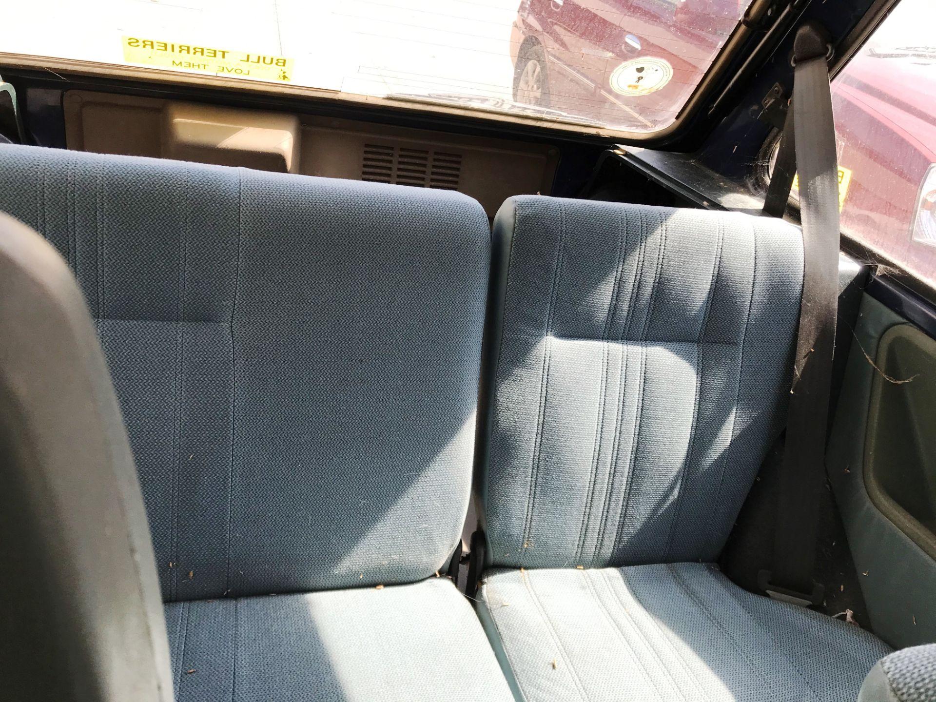 GARAGE FIND - IN NEED OF FULL RESTORATION AUSTIN METRO 1300L 3 DOOR HATCHBACK - petrol - blue - Image 8 of 11