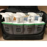 An Auto Glym Skoda Lifeshine Aftercare Collection car valeting bag and contents - 500ml Interior