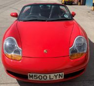 From a deceased estate: PORSCHE BOXSTER 2.5 CONVERTIBLE