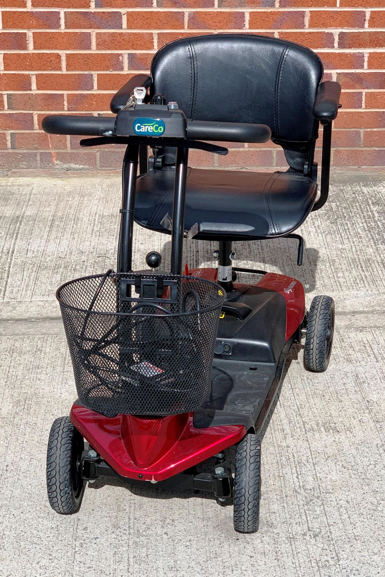 A CTM Dynamo 4 wheel mobility scooter - max weight 115 kg, S/N 18AHC6315 - date of manufacture 02. - Image 5 of 6