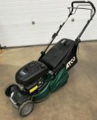 "An Atco NTL 434 TR-R model Liner 16SH 16"" petrol rotary lawn mower with Honda GCV 160 OHC engine"