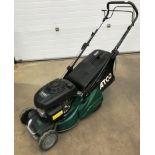 "An Atco NTL 434 TR-R model Liner 16SH 16"" petrol rotary lawn mower with Honda GCV 160 OHC engine"