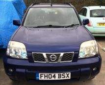 NISSAN X-TRAIL ESTATE 2.5 AUTOMATIC 5 DOOR ESTATE - Petrol - Blue - Black leather interior.