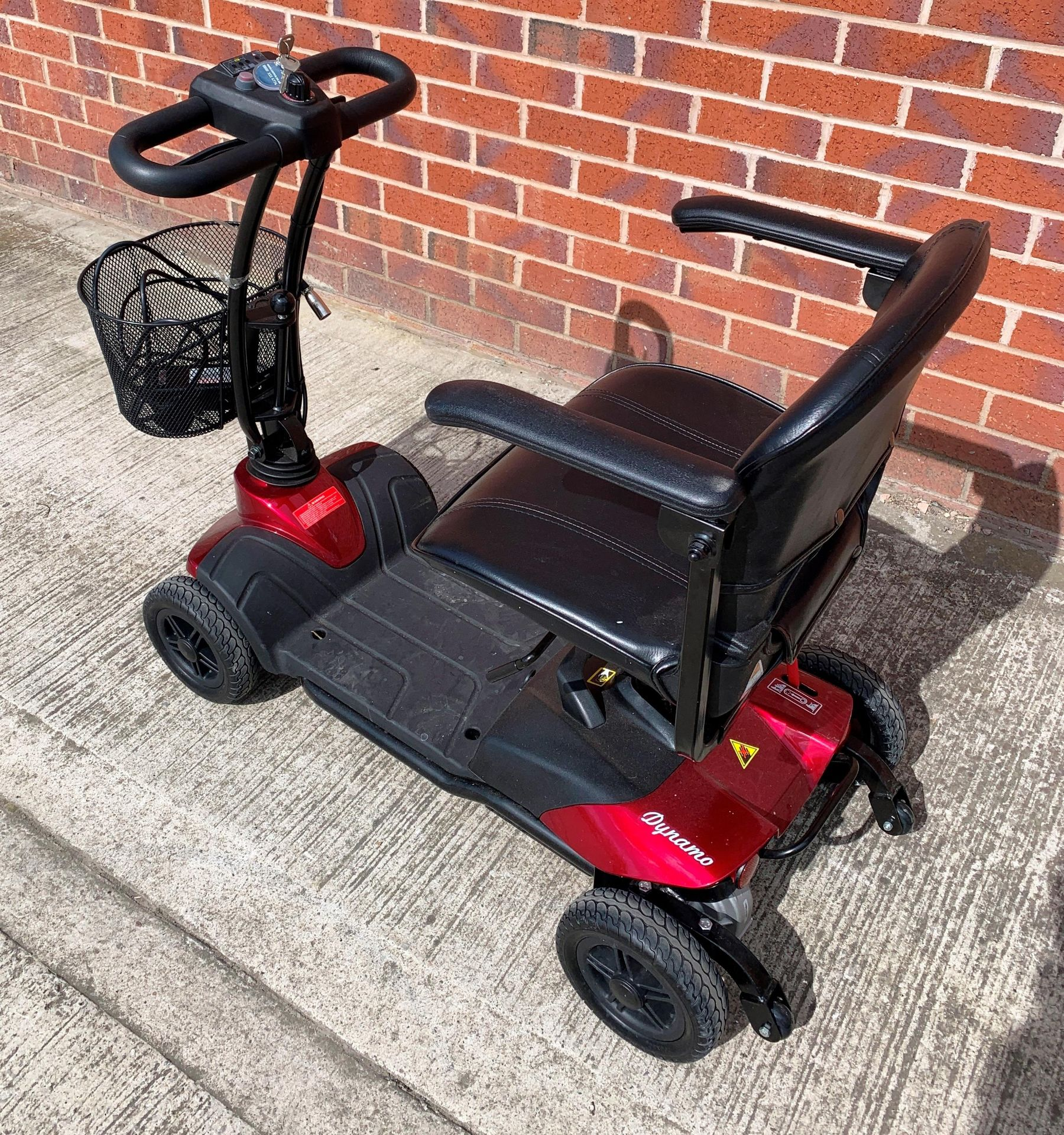 A CTM Dynamo 4 wheel mobility scooter - max weight 115 kg, S/N 18AHC6315 - date of manufacture 02. - Image 3 of 6