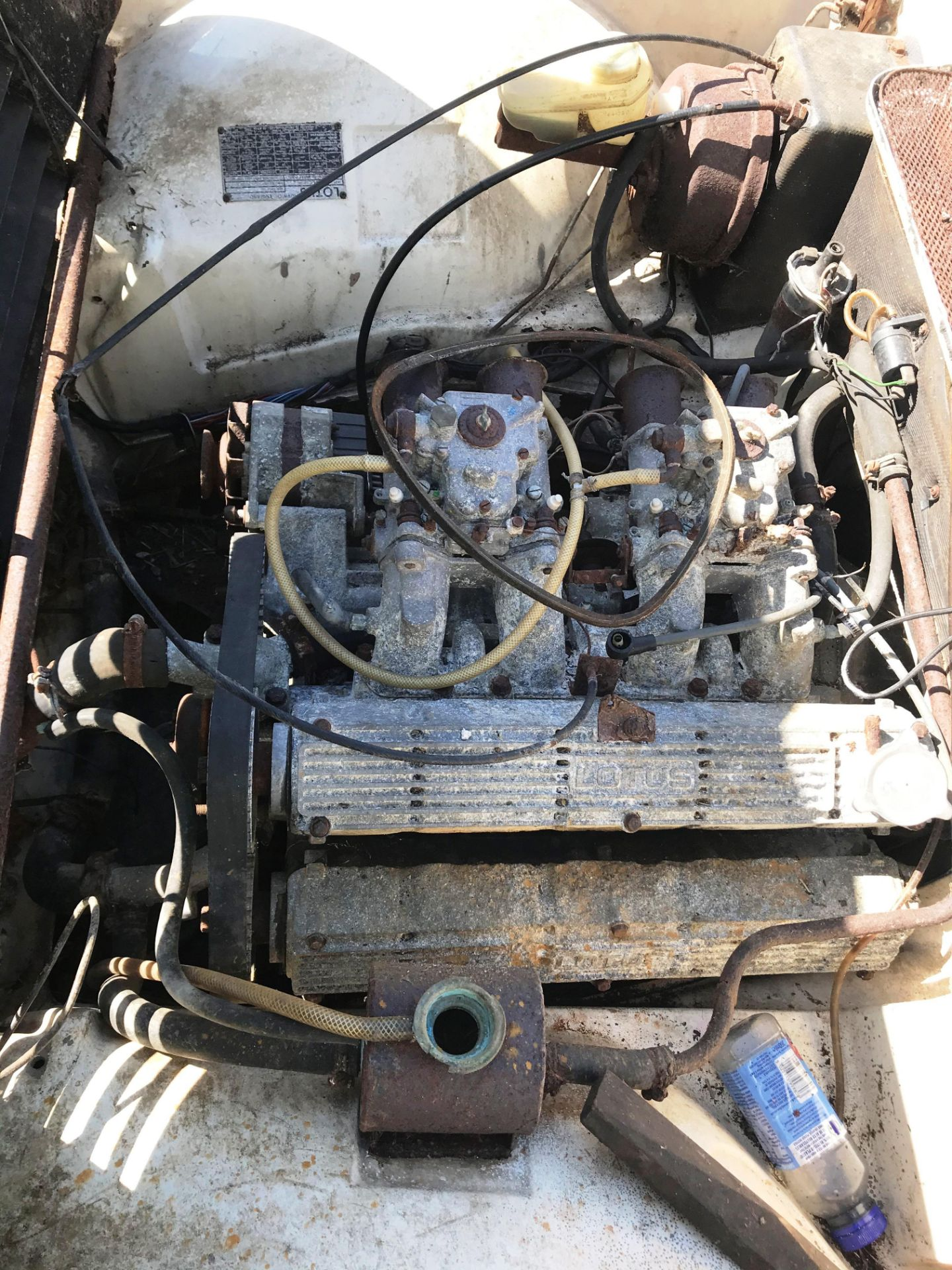 BARN FIND - IN NEED OF TOTAL RESTORATION AND FROM THE SAME BARN AS LOT 7 LOTUS ELITE TWO DOOR - Image 13 of 13