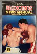 A 1966 Boxing News Annual and Record book with references to Peter Carney and Mick Carney