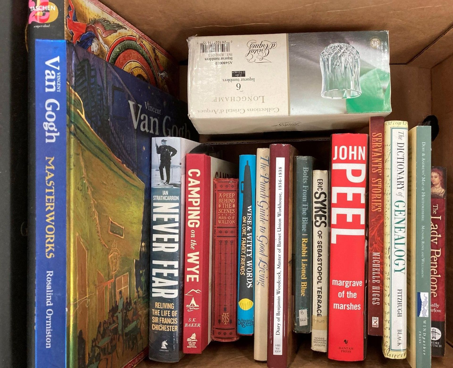 Contents to four boxes - books including Ormiston 'Van Gogh Masterworks' Taschen 'The Most - Image 4 of 5
