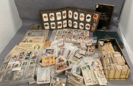 Very large collection of vintage cigarette cards.