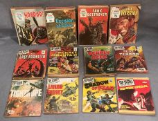 Contents to tray - 39 comic books - War Picture Library,