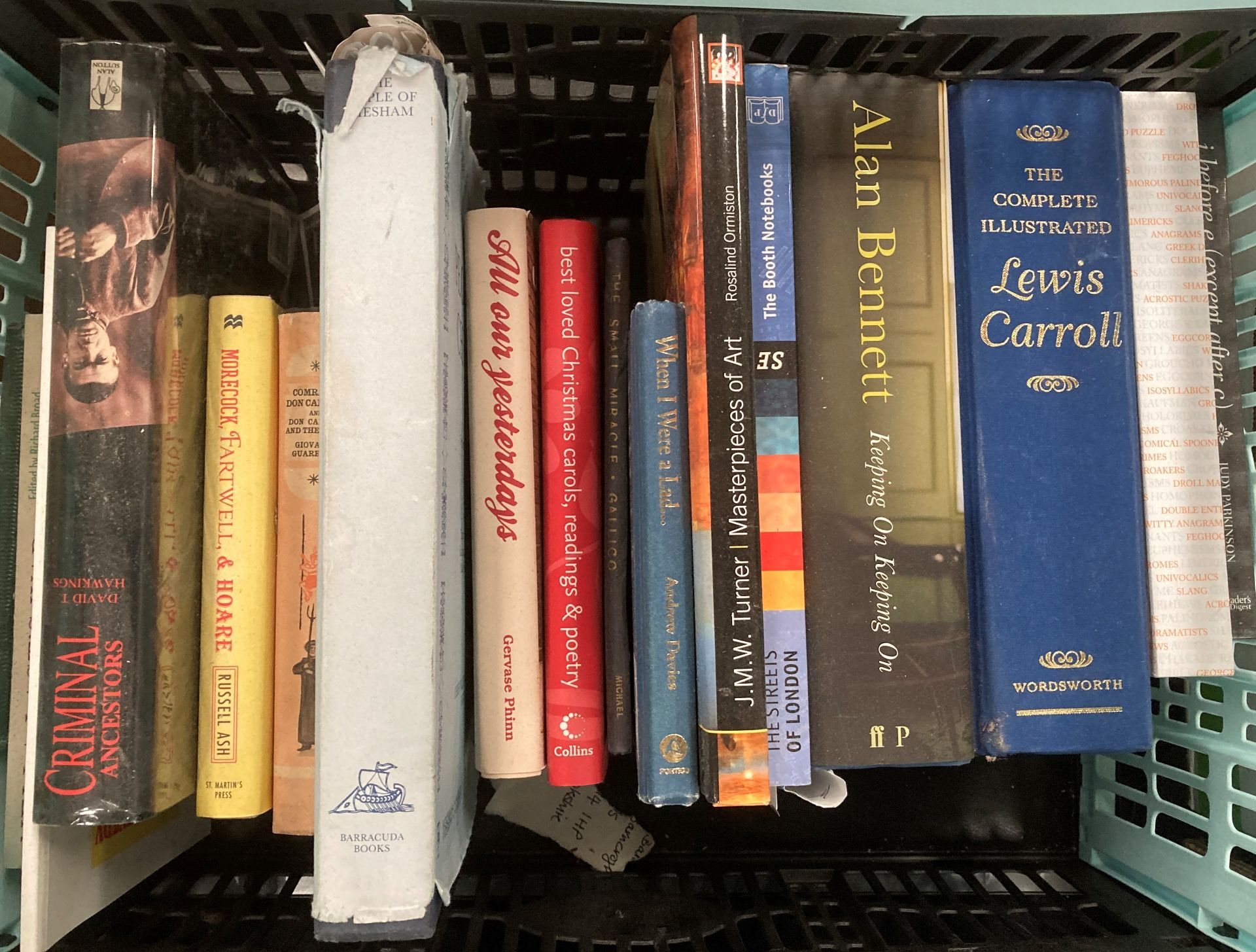 Contents to four boxes books on English Literature, poetry, biographies, religion etc. - Image 2 of 5