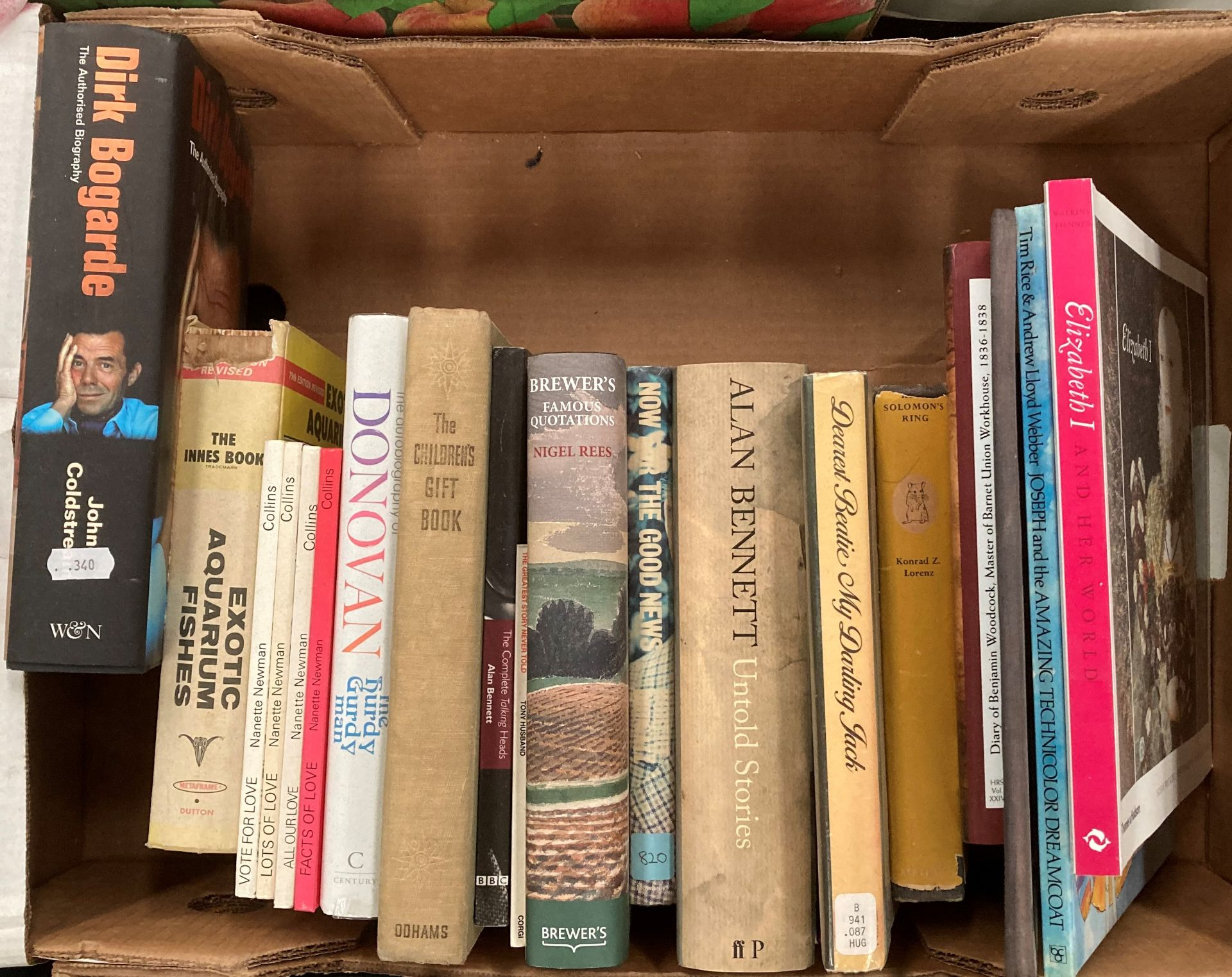 Contents to four boxes books on English Literature, poetry, biographies, religion etc. - Image 5 of 5