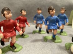 A five-a-side table football game - as seen