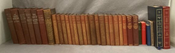 Contents to crate a quantity of Collins pocket book hard backs - Charles Dickens and The Brontes,
