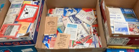 Approximately 230 assorted football programmes 1950s to 1970s