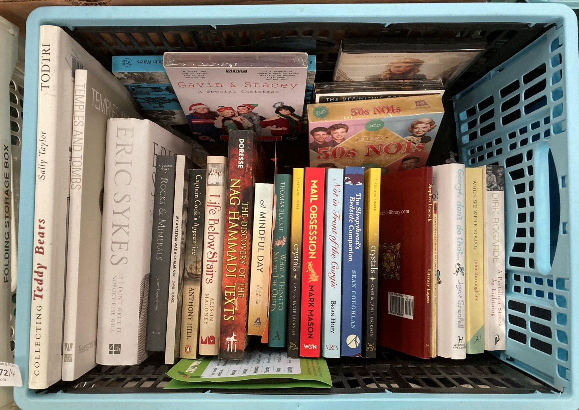 Contents to four boxes - books including Ormiston 'Van Gogh Masterworks' Taschen 'The Most - Image 3 of 5