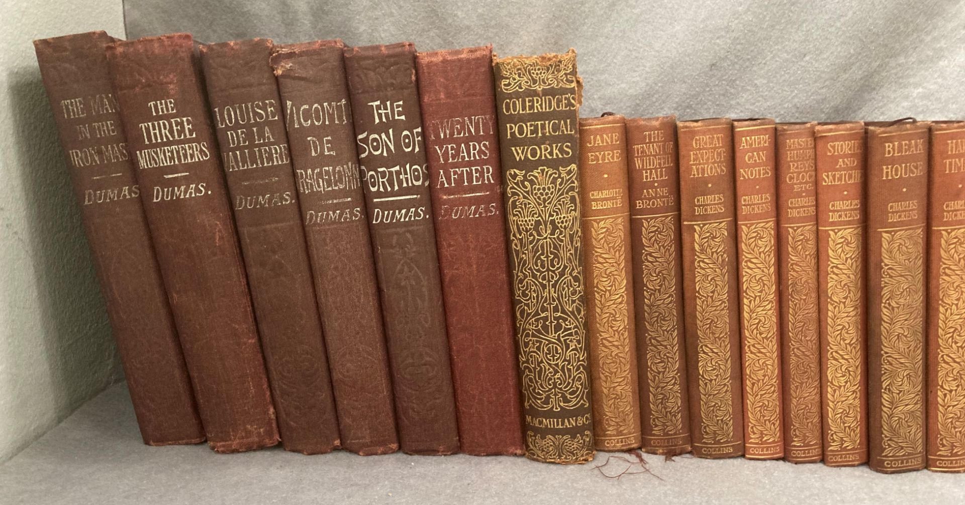 Contents to crate a quantity of Collins pocket book hard backs - Charles Dickens and The Brontes, - Image 2 of 3