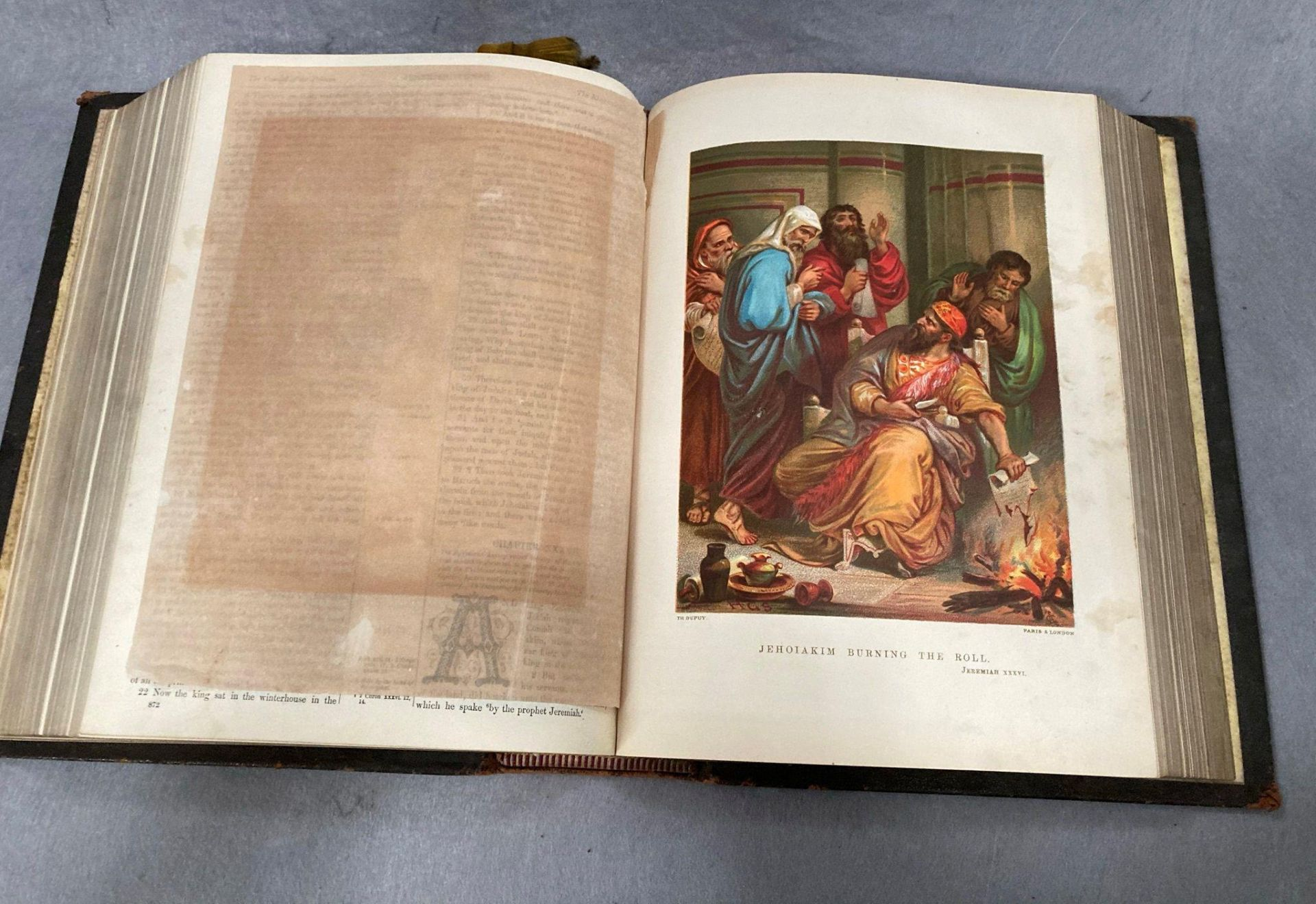 The Holy Bible illustrated with more than 900 engravings published by Cassell, - Image 4 of 4