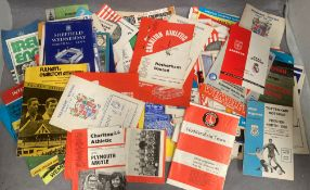 Approximately 180 football programmes 1950s onwards including Cup Finals and England