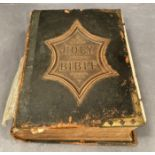 The Rev John Eadie DD LLD - The Illustrated National Family Bible with coloured plates and a family