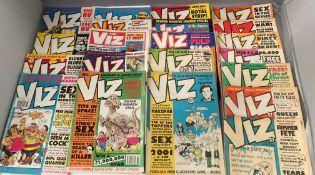 Viz: 22 vintage (1990s) copies of this very naughty comic