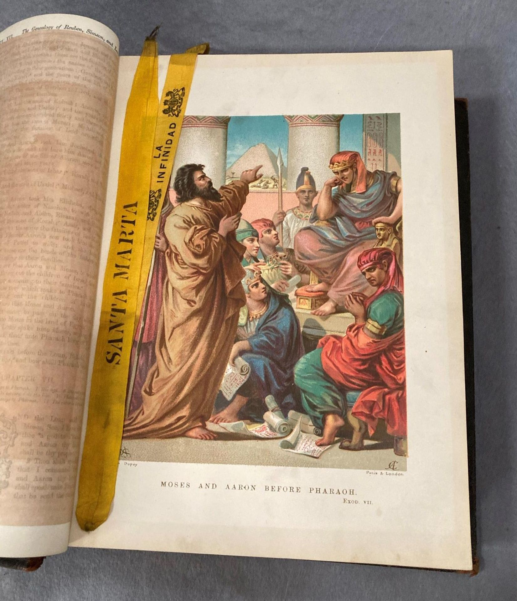 The Holy Bible illustrated with more than 900 engravings published by Cassell, - Image 3 of 4