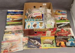 Huge collection of Brooke Bond tea-cards and albums, approximately 30 unused albums,