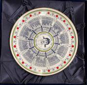 A Coalport collector's plate, Geoffrey Boycott O.B.E.