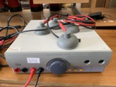 Enraf Nonius Vacotrom 460 muscle simulator electro therapy vacuum with power cable,