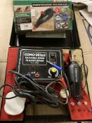 Parkside PGG 15 A1 power engraving tool, boxed,