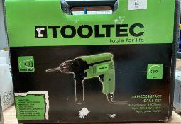 Tooltec 35 piece impact drill set 500w 0.