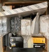 Contents to box - assorted pollen filters for Citroen/Mazda/Fiat/Alfa, etc.