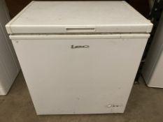 LEC white chest freezer model CF150LW
