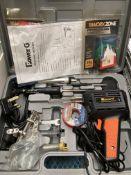 Power G soldering iron set, 9 piece, in case,