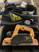 JCB 650w PPA planer in case,
