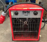 Clarke Devil 6015 15kw heater (rrp £143) *Please note this lot is subject to VAT on the hammer